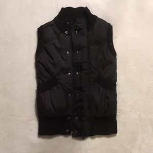 Jackets & Blazers - 🎃SALE! NEW Women's Black Puffer/Sweater Vest